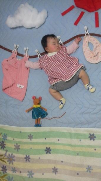 熟睡ベビーに思わず笑顔♪LOVE赤ちゃん写真☆_3