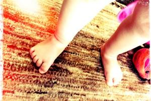 『プチプチ+マット』で子どもの足音対策!