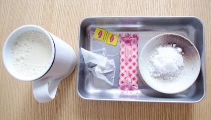 授乳中OK『母乳スイーツ』紅茶が香る豆乳プリン♪_2