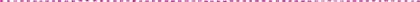 ピンク毛糸破線