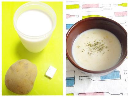 すりおろす→火にかける最短3分⁉ あったかスープ_3