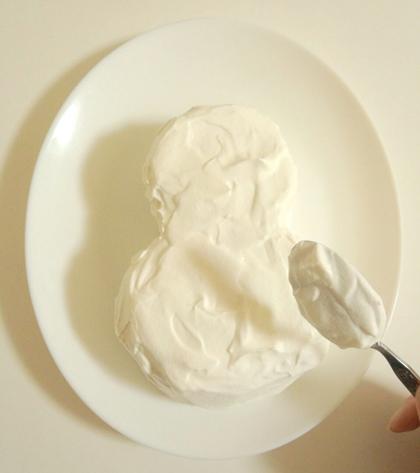 森崎りよのデコレシピ♥第一回は雪だるまケーキ!_3