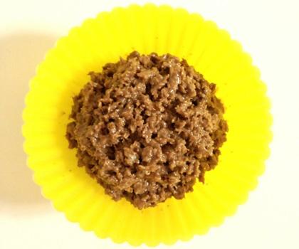 森崎りよのデコレシピ♥パン粉で『クランチチョコ』_4