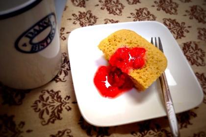 レンジでチン♪余りがちなクリームチーズで簡単ケーキ_1