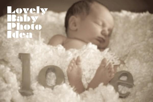 愛する赤ちゃんを100倍かわいく撮るアイデア10選