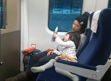 LCCで行く子連れ海外旅行電車→空港→飛行機★移動編_3