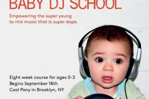 「赤ちゃんDJ養成学校」がニューヨークの育児トレンドに!!DJ赤ちゃんが誕生か!?