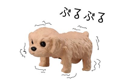 テーブル上で飼える癒し系♪小型ペットの『じゃれ犬』!_2