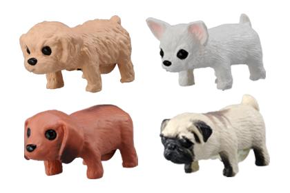 テーブル上で飼える癒し系♪小型ペットの『じゃれ犬』!_5