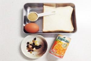 堅くなったパンでレンチン一発!『パンプディング』の作り方_2