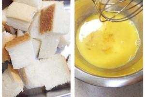 堅くなったパンでレンチン一発!『パンプディング』の作り方_3