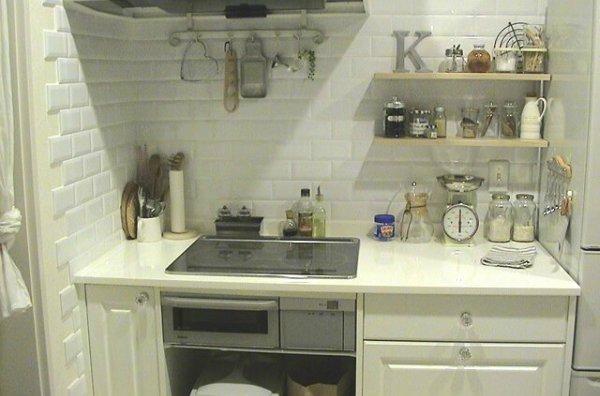 キッチンのカラーを統一