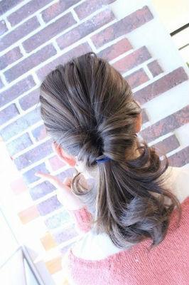 まとめ髪でスッキリ!子育てママのオシャレの作りかた_1