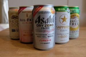 妊娠授乳中に大活躍!『ノンアルコールビール』勝手に飲み比べランキングBEST5
