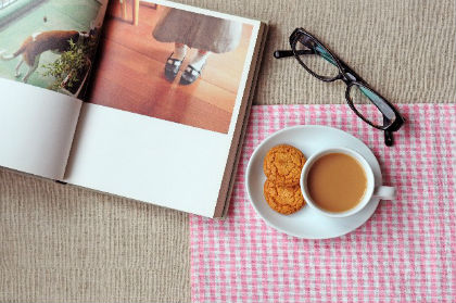 アレンジ カフェ風1
