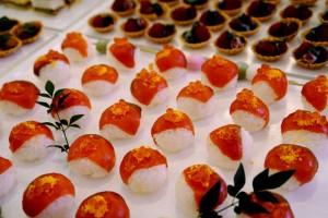 今年のひな祭りは『手まり寿司』で華やかに演出♪