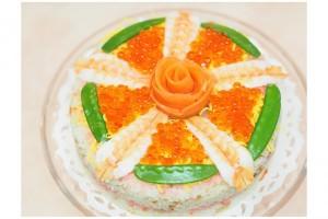 ひな祭りは、華やかでかわいい『ちらし寿司ケーキ』にトライ!