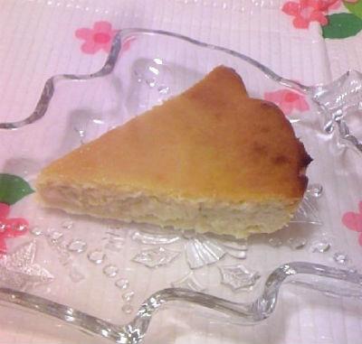 マカダミアナッツオイル チーズケーキ