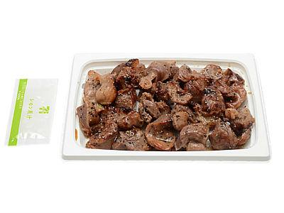 コンビニおつまみ 砂肝の黒胡椒焼き
