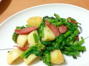 菜の花 レシピ3