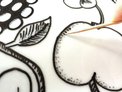 オリジナル食器 描き方3
