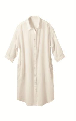 ロングシャツ 遮熱