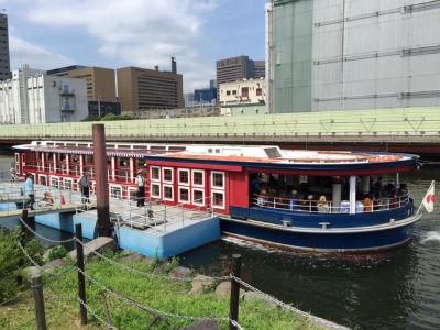 東京 水上バス 乗船レポ2
