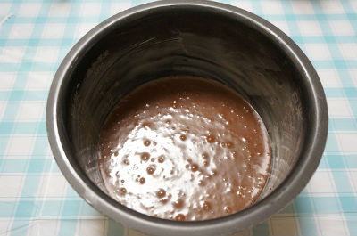チョコレートケーキ レシピ4