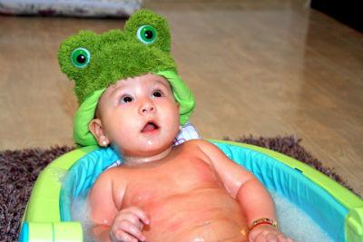 子どもの写真 お風呂