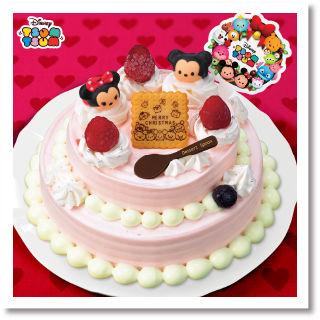 クリスマスケーキ ツムツムクリスマスデコレーションケーキ