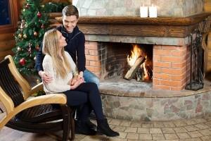 クリスマス感倍増!ニトリの『暖炉型ファンヒーター』がレトロかわいい