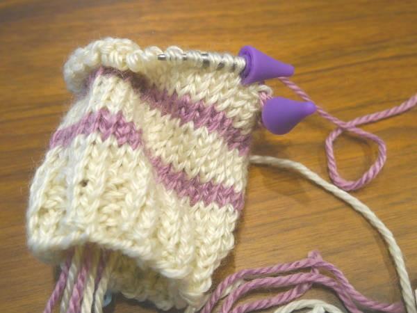 輪針編み10
