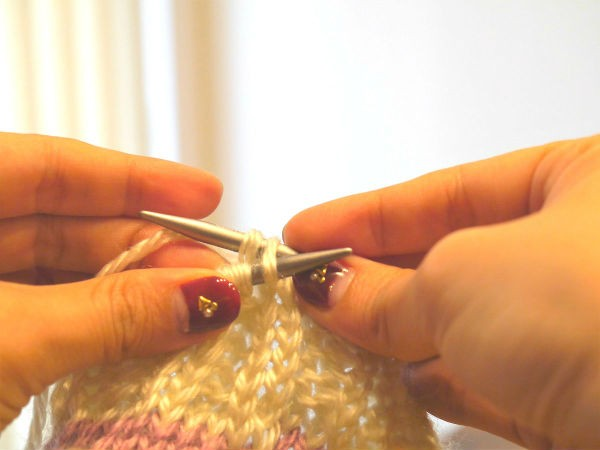輪針編み11