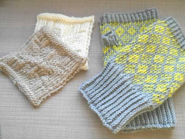 輪針編み2