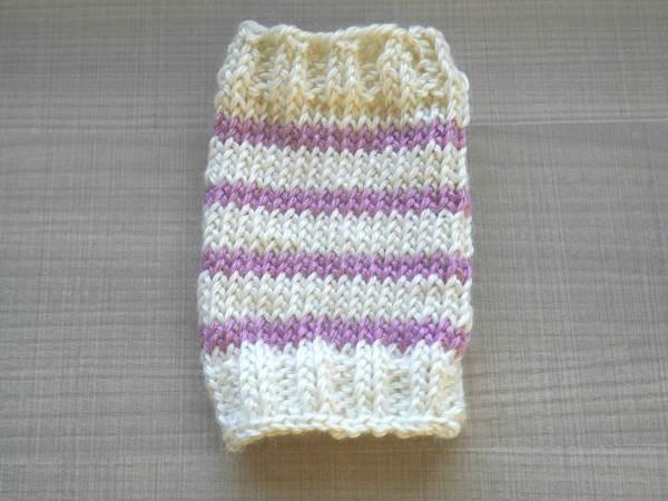 輪針編み3