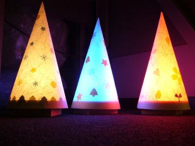 パナソニック工作教室 クリスマスランプをつくろう!
