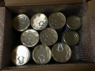 フードドライブ 缶詰