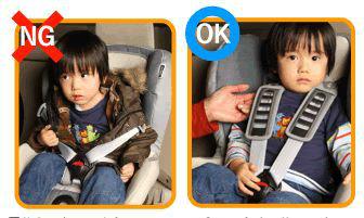 チャイルドシートの正しい着け方2