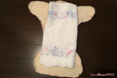 布おむつ 使い方1