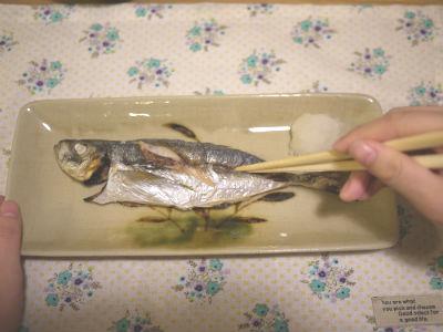 キレイな魚の食べ方1