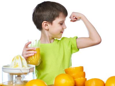 子どもの成長を促す食材