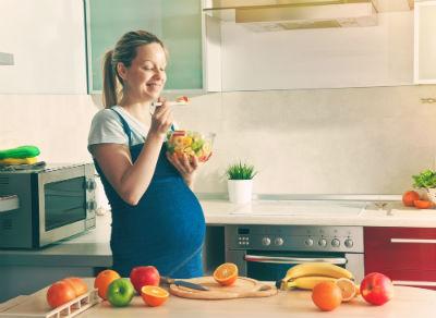 妊娠後期のむくみ