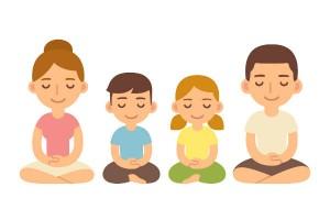 集中力や精神面への効果で人気上昇中!親子で『坐禅』に取り組もう!