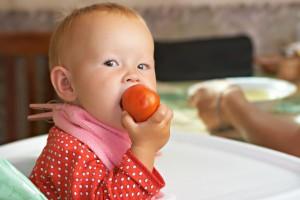 忙しいときに便利!作り置きトマトで離乳食レシピ