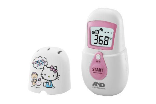 【プレゼント】1秒で検温できる!『非接触体温計でこピッと』が忙しいママに超おすすめ★