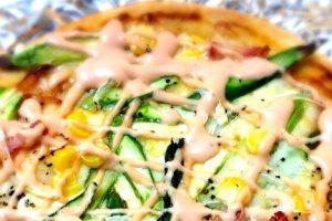 子供も喜ぶ!新じゃが、新たま、春キャベツで作る春野菜ピザ♪
