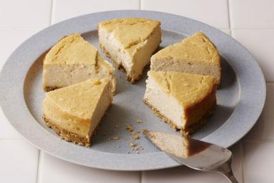 酒かすと山芋のチーズケーキ