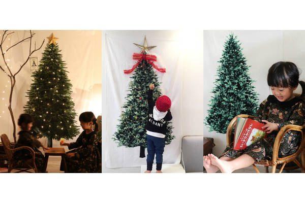 巻いて保管できるツリー!?クリスマス飾りの新定番『ツリータペストリー』が大人気!