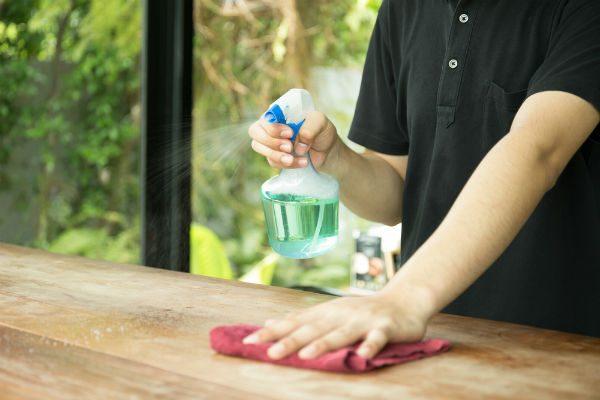 アルコールやエタノールは効果なし!ノロ・ロタの二次感染対策は『キッチンハイター』が有効!